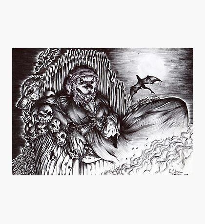 Werewolf - The Dark minister Photographic Print