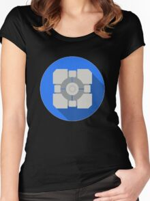 Cube portal Women's Fitted Scoop T-Shirt