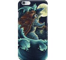 Blue: The Carapace iPhone Case/Skin