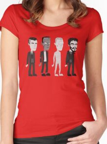 Many Faces Of Karloff Women's Fitted Scoop T-Shirt