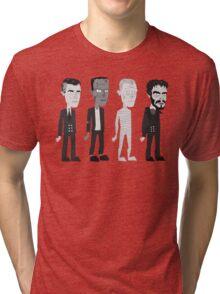 Many Faces Of Karloff Tri-blend T-Shirt