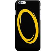 Orange portal iPhone Case/Skin