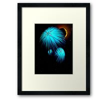 Space Fish Framed Print