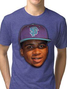 Lil B Portrait Tri-blend T-Shirt