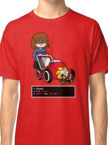 Undertale Frisk and Flowey Classic T-Shirt