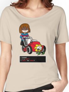Undertale Frisk and Flowey Women's Relaxed Fit T-Shirt