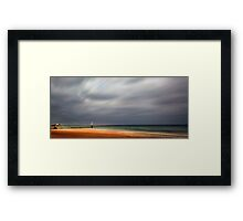 A summer day in Normandy Framed Print