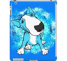 Turquoise English Bull Terrier Dog  iPad Case/Skin
