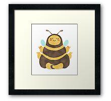 Karma Bee Simple Framed Print