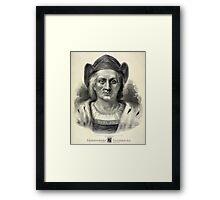 Christopher Columbus 2 - 1892 - Currier & Ives Framed Print