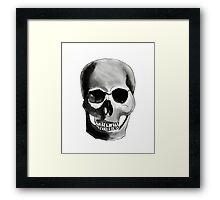 Dark Skull Framed Print