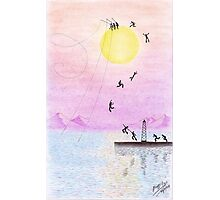 gone fishing in the sun Photographic Print
