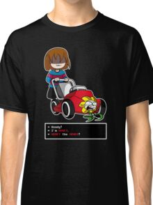 Undertale Frisk and Flowey Classic T-Shirt