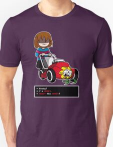 Undertale Frisk and Flowey Unisex T-Shirt