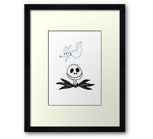 Jack & Zero Framed Print