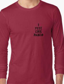 Pablo YZY s3 Long Sleeve T-Shirt