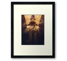 The Synth detective Framed Print