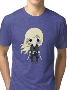 Throne of Glass Chibi Tri-blend T-Shirt