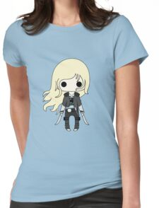 Throne of Glass Chibi Womens Fitted T-Shirt