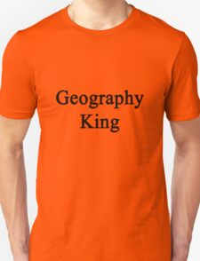 Geography King  Unisex T-Shirt