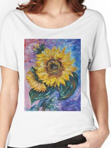That Sunflower From The Sunflower State Women's Relaxed Fit T-Shirt