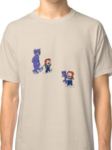 calvin and hobbes meets hanks and raven Classic T-Shirt