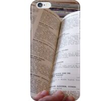 1967 EDUCATIONAL RECORDS/FILMSTRIPS CATALOG OPEN iPhone Case/Skin