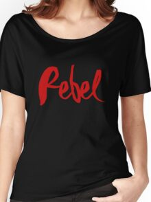 Madonna Rebel Heart / 'Rebel' Women's Relaxed Fit T-Shirt