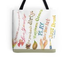 Daily Inspiration, Affirmations, Quotes Tote Bag