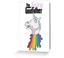The Fairy Godfather Greeting Card