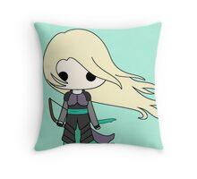 Heir of Fire Chibi Throw Pillow