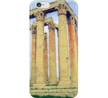 ruins of ancient temple of Zeus, Athens, Greece iPhone Case/Skin
