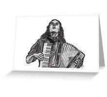 Weird Al Greeting Card