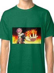 Fairy Tail - Natsu Dragneel Fire Classic T-Shirt