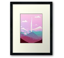 tower of wind Framed Print