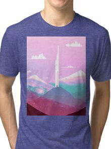 tower of wind Tri-blend T-Shirt