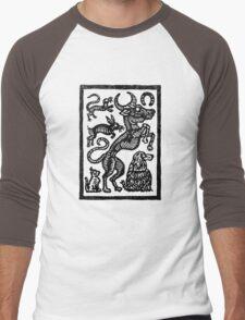 Witch's Familiars Men's Baseball ¾ T-Shirt