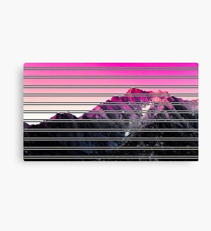 Mountain Difference Canvas Print