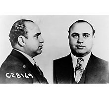 Al Capone Mugshot at the CPD (June 17th 1931) Photographic Print