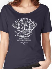 Minutemen Of The Commonwealth - negative colors Women's Relaxed Fit T-Shirt