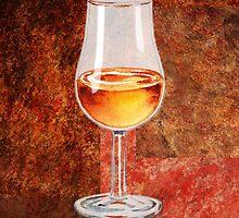 Glass Of Port by Irina Sztukowski