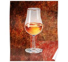 Glass Of Port Poster