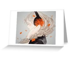 petal steam. Greeting Card