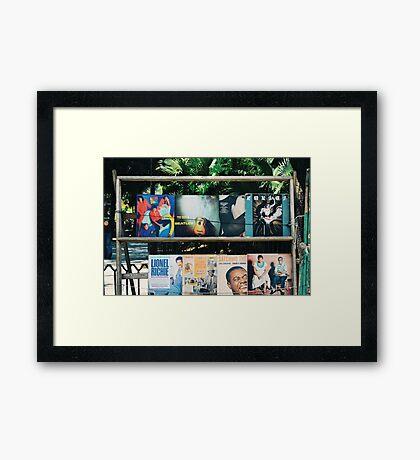 Secondhand Records, Plaza de Armas (Havana) Framed Print