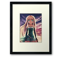 Tina Sprout Teary Eyes Framed Print