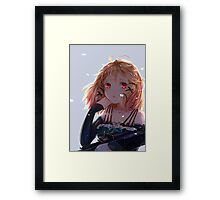 Tina Sprout Red Eyes Framed Print