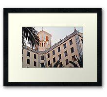 A Cuban Castle (Havana) Framed Print