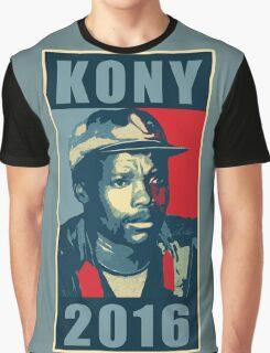 KONY 2016 Graphic T-Shirt