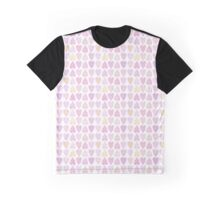 Pattern hearts Graphic T-Shirt