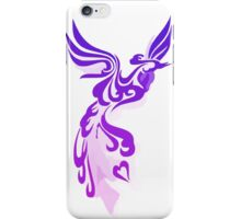 Purple Phoenix iPhone Case/Skin